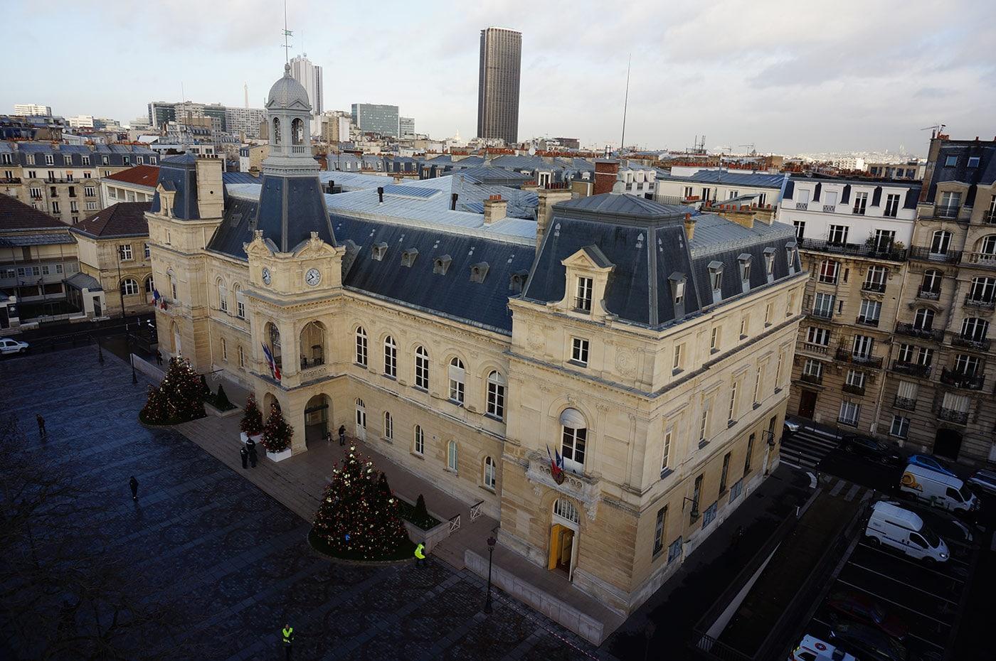 photo Mairie de Paris drone