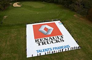 Renault Trucks vue par drone