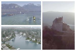 Drone en Rhône-Alpes pour vidéo fiction