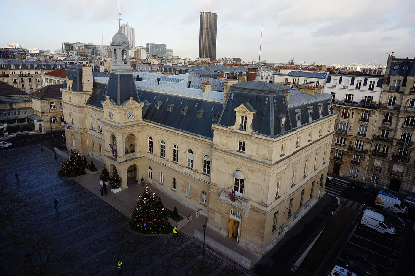 photo Mairie de Paris drone