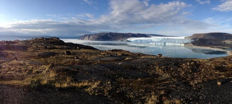 Documentaire TV filmé par drone au Groenland