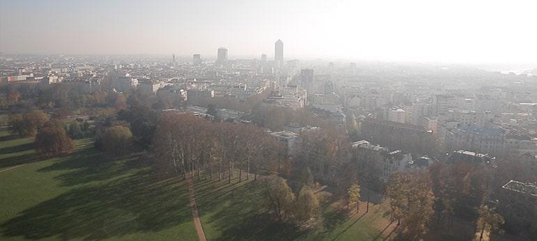 Prise de vue aérienne par drone pour série TV