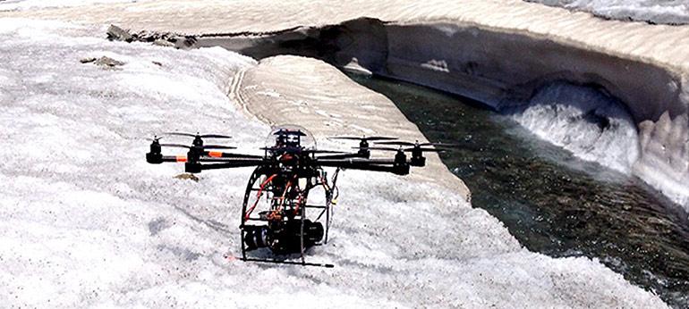 Réalisation de film par drone à Chamonix