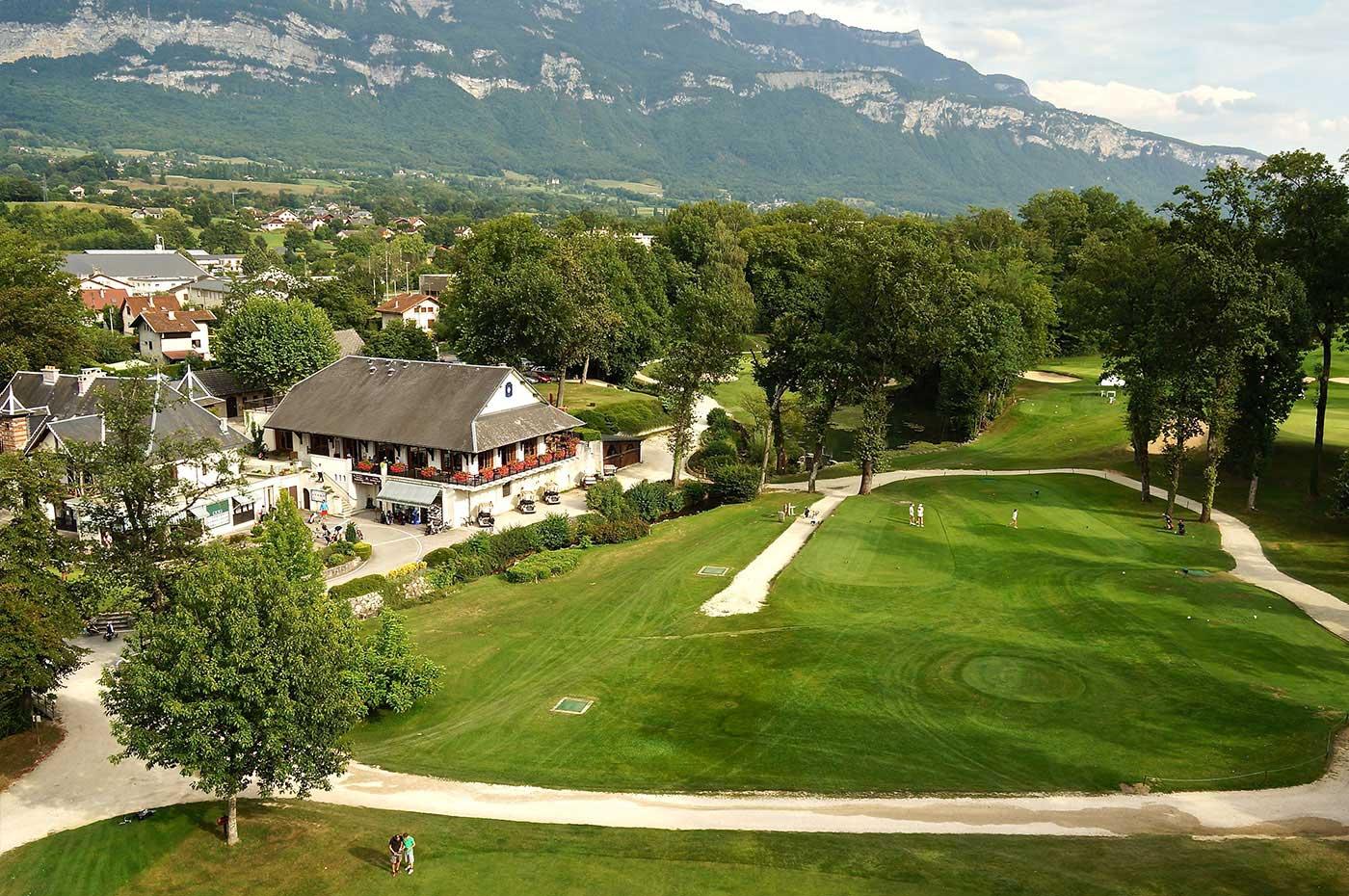Photo aérienne drone Golf