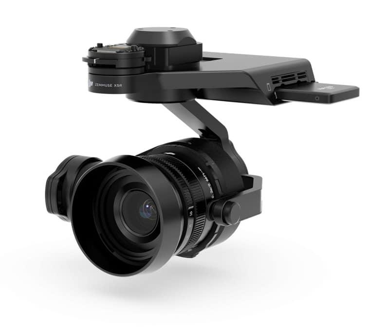 Nacelle drone raw avec camera