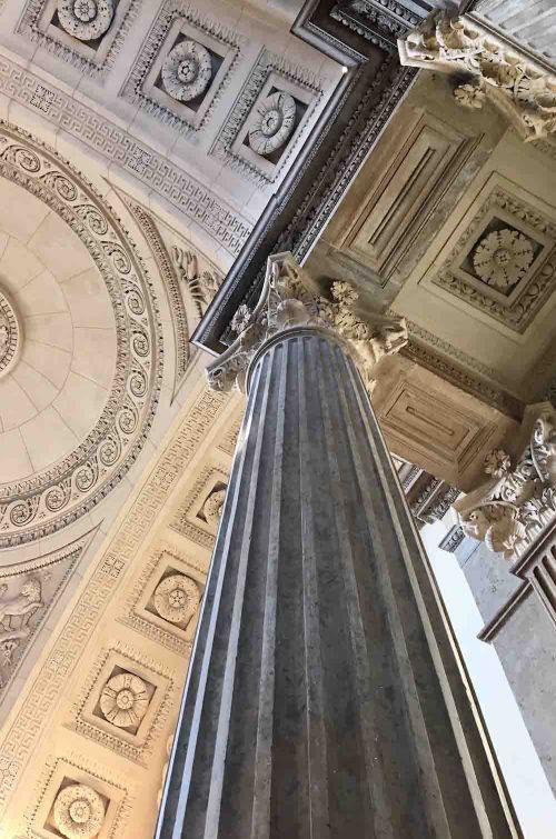Intérieur du palais de justice de de Lyon