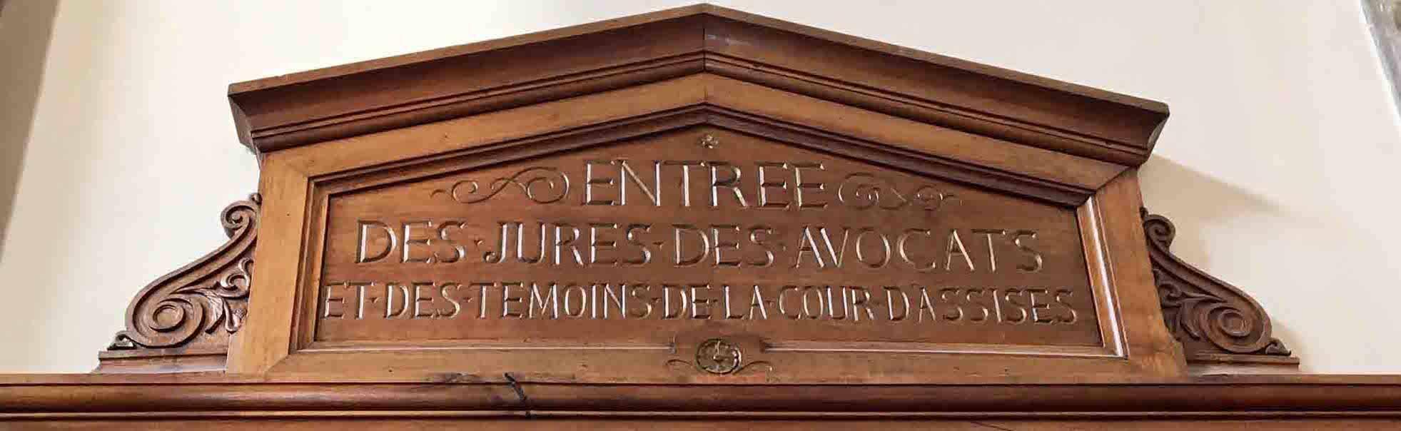 Palais de justice Lyon et cour d'assises