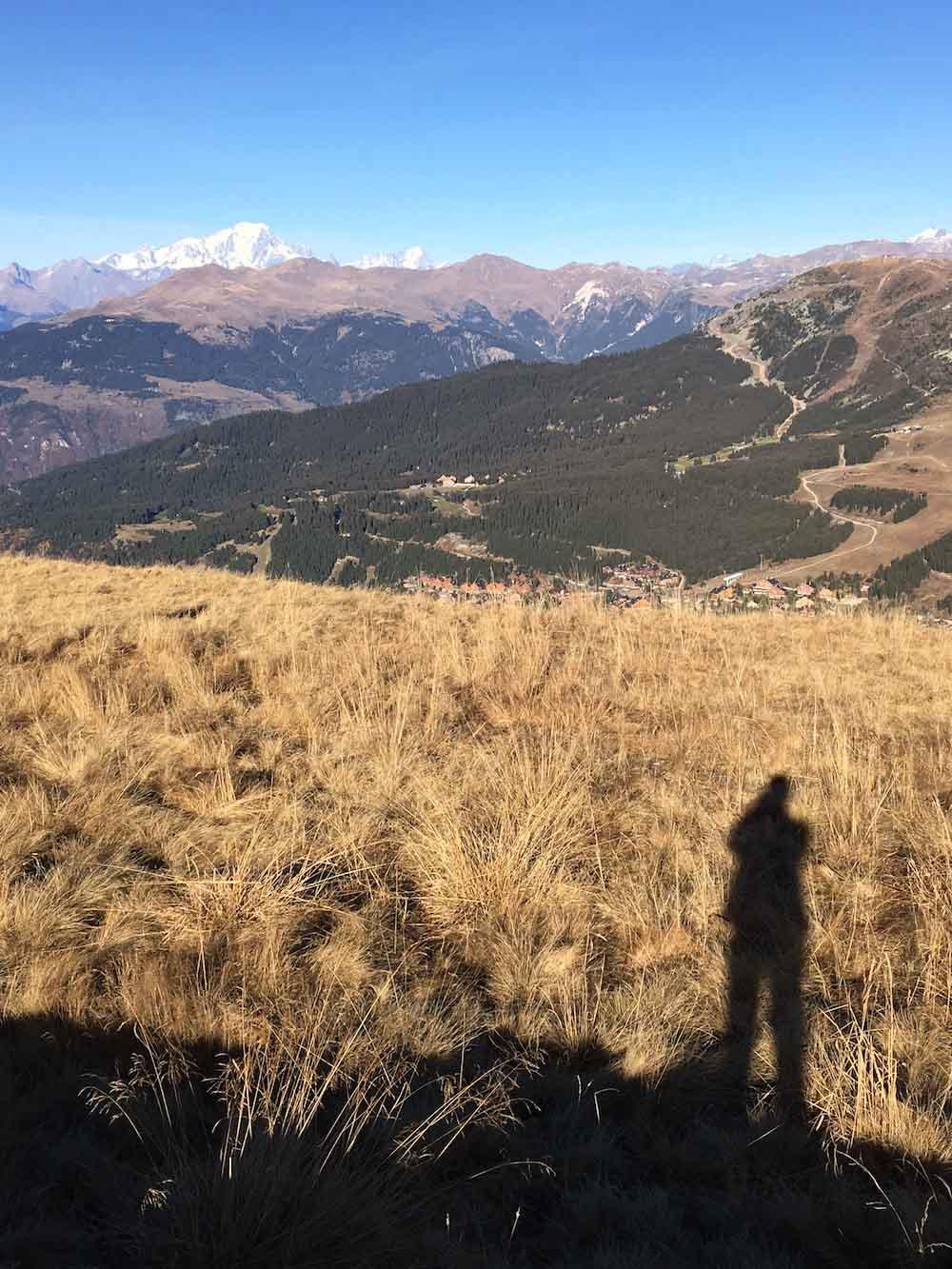 Paysage de montagne pour fiction à méribel