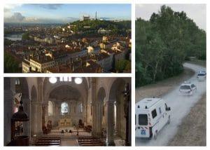 Fiction par drone en Rhône Alpes