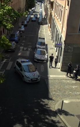 Fiction en Rhône-Alpes avec police