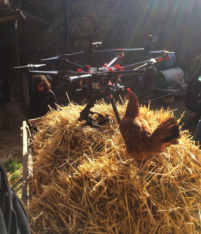 Drone campagne en Rhône Alpes