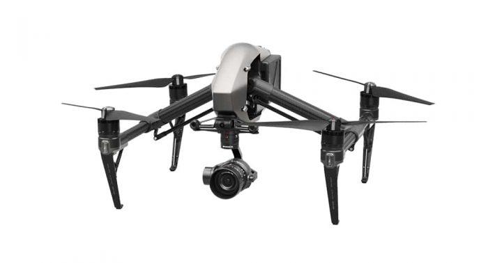 Drone inspire 2 pour photo et vidéo aérienne