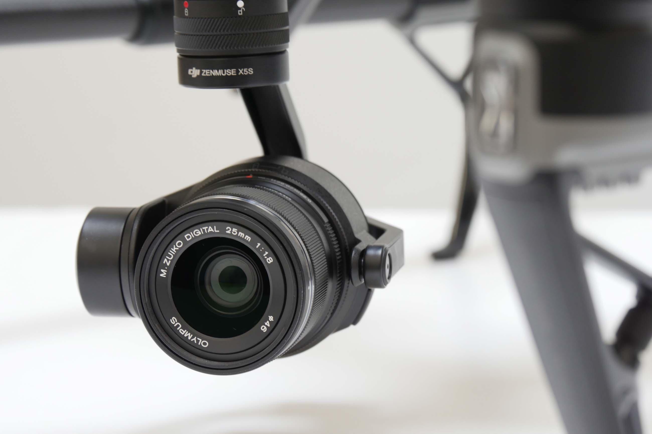 Nacelle caméra du drone inspire 2