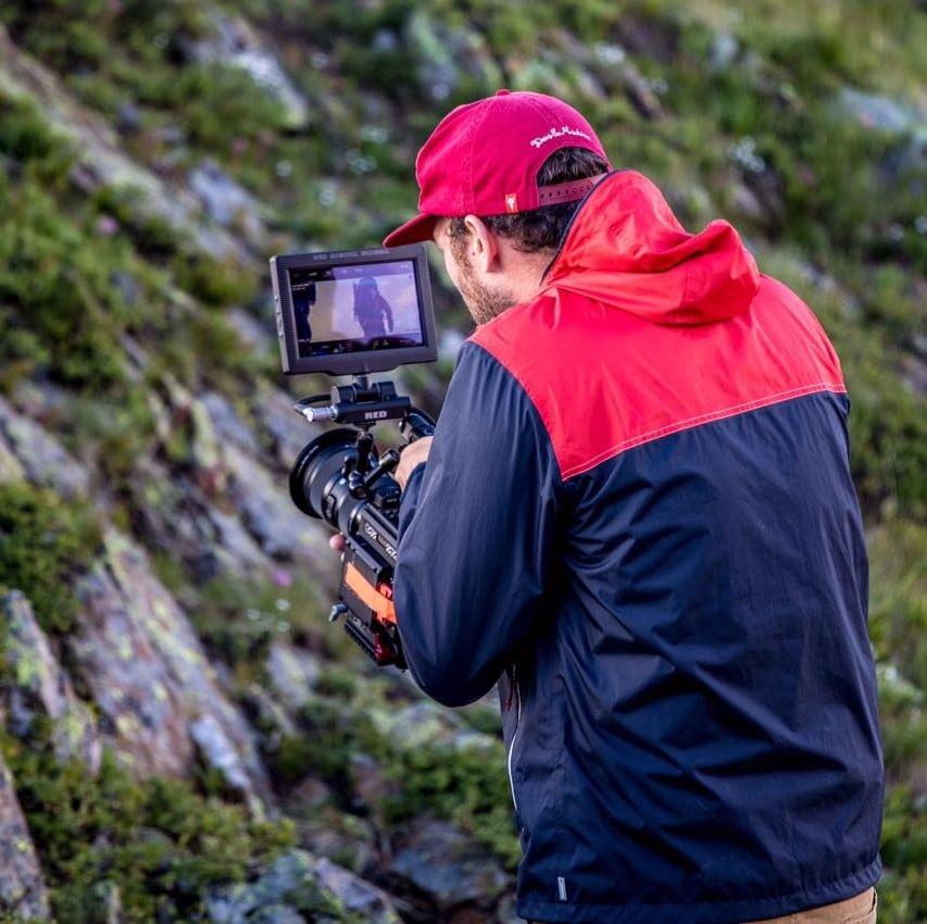 Cameraman tournage film publicitaire
