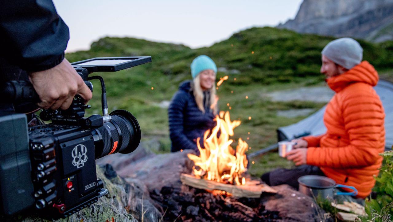 Tournage feude camp avec caméra 8K
