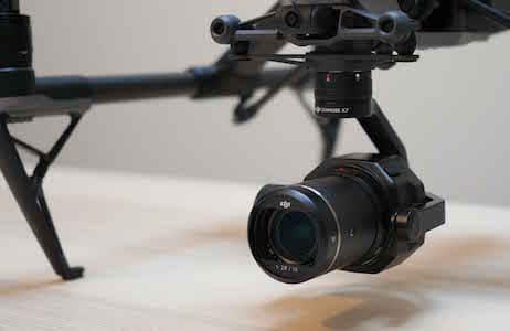 caméra dji X7 drone studiofly