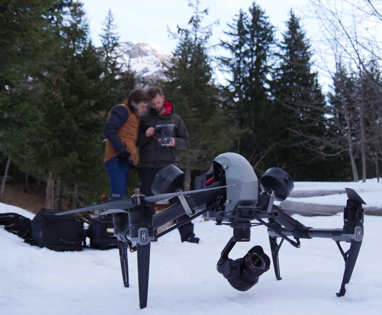 inspire 2 drone studiofly equipe