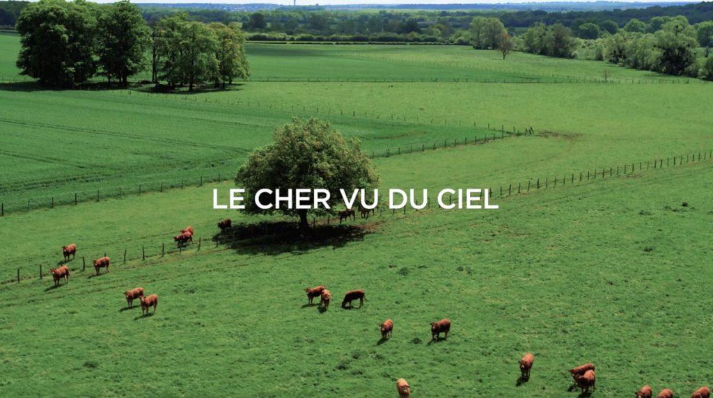 Film par drone pour le Cher