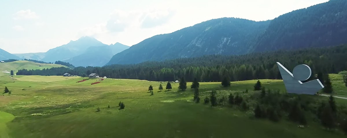 Plateau des glières flim groupama par drone