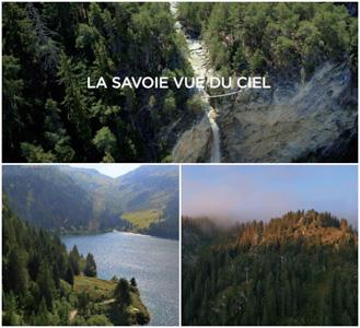 Film sur la Savoie vu du ciel par drone