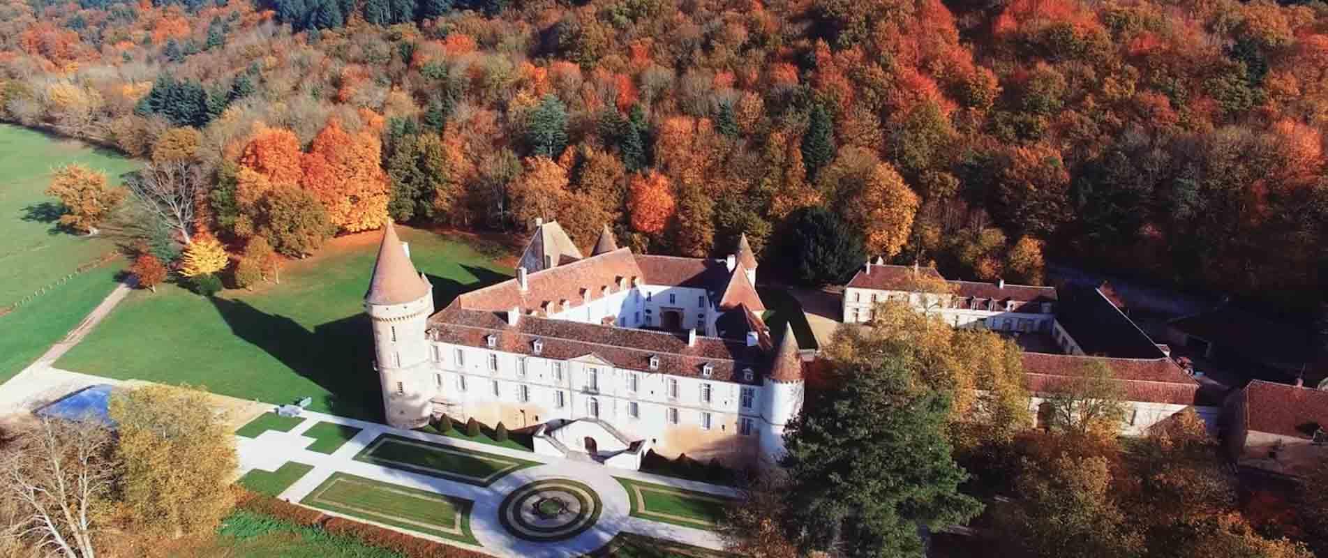 chateau Nièvre film aérien drone