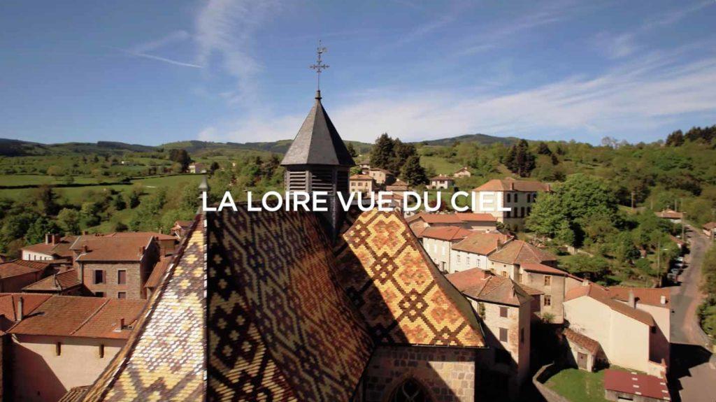 la loire vue du ciel film aérien drone