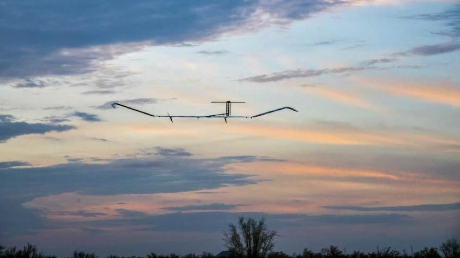 drone solaire zephyr record