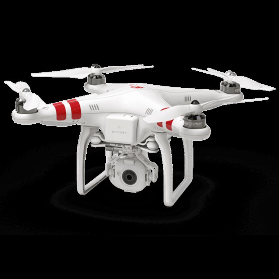Phantom DJI blanc drone