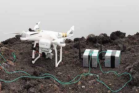 Oeufs de dragon pour Drone Bristol University
