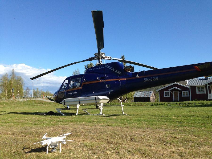 Phantom Helico Drone