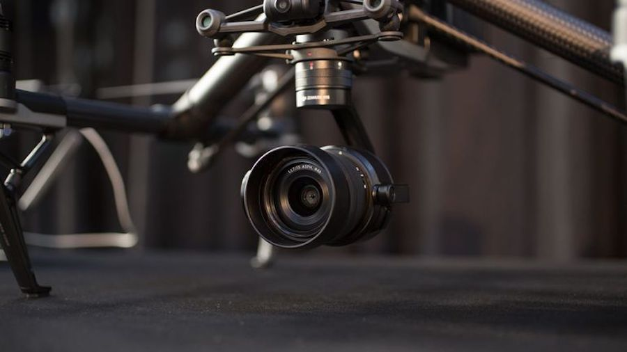 DJI INSPIRE 2 Drone X7 gros plan
