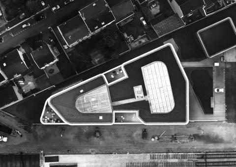architecture lyon drone aerien