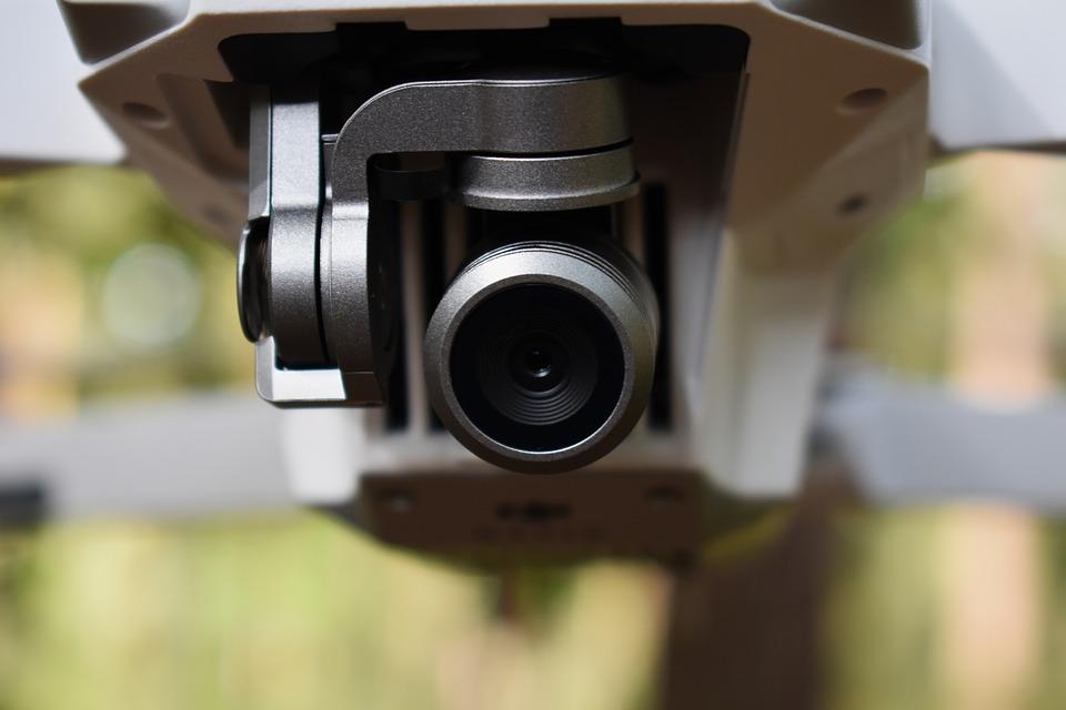 drone police caméra